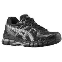 Asics Gel Kayano 20 Black Womens Sneakers Size 8.5 B 2014 Running Shoes Photo