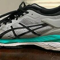 Asics Gel Kayano 24 Womens Running Shoes Sneakers Gray Blue Size 9.5 T799n Photo