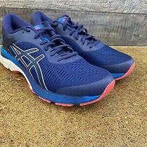 Asics Gel-Kayano 25 Men's Running Shoe Size 9 - Indigo Blue / Cream Photo