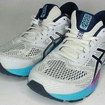 Asics Gel-Kayano 26 Womens Size 10.5 Running Shoes White Purple Blue Photo