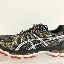 Asics Gel Kayano 30 Men's Black Running Shoes Size 9.5 Photo