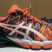 Asics Gel Kinsei 5 Men's Running Shoes Orange/white/blue T3e4y-3001size 11.5 Photo