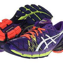 Asics Gel-Kinsei 5 Running Shoes Women's Size 7.5 B Ultramarine/white/purple  Photo