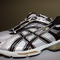 Asics Gel Kushon White Gold Brown Women's Running Shoes Size 11.5 Photo