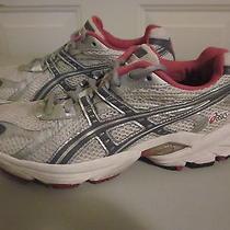 Asics Gel Landreth Ii Running Train Shoe Sneaker White/silvr Chrome/pink w's 7.5 Photo