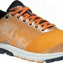 Asics Gel-Lyte 33 3 T412n-3250 Flash Orange / Navy / Silver Running Trainers Photo