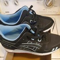 Asics Gel-Lyte Iii 3 Black/blue Sz 10 M Men Running Shoes Photo