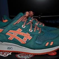 Asics Gel Lyte Iii Miami Dolphins Sz 8 9 10 Kith Photo