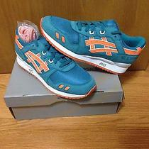 Asics Gel-Lyte Iii X Ronnie Fieg Rf Ecp Miami Dolphin Size 11 Knicks Salmon Toe Photo
