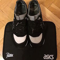 Asics Gel Lyte Speed Patta X Parra Black Backpack Camp-Out Seat Cover Us 85 Photo