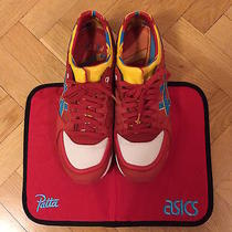 Asics Gel Lyte Speed Patta X Parra Red Backpack Camp-Out Seat Cover Us 85 Photo