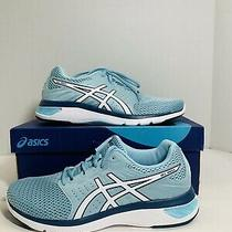 Asics Gel-Moya Ortholite Women Size 8.5 Running Athletic Shoes Blue Sneakers Photo