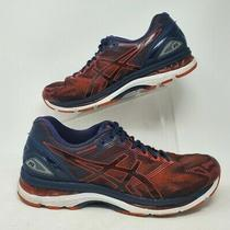 Asics Gel Nimbus 19 T700n 9023 Shoes Sneakers Mens Running Size 11.5 Red Blue Photo