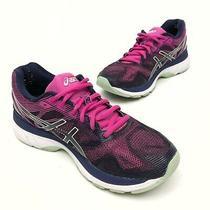 Asics Gel Nimbus 19 Women's Running Shoes 8 Eu 39.5 Blue /green /pink Photo