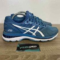 Asics - Gel-Nimbus 20 Blue White Running Shoes - Women's 10 - T850n Photo