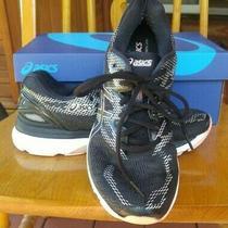 Asics Gel-Nimbus 20 T850n Running Shoes Women's Size 9 Black/baby Pink Photo