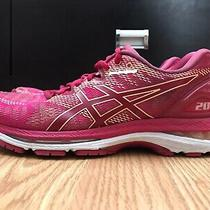 Asics Gel-Nimbus 20 Women's Shoes Size 8.5 Pink Running Athletic T850n Photo