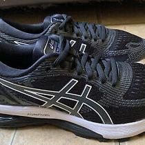 Asics Gel-Nimbus 21 Black White Running Shoes Women Size 6 Photo