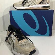 Asics Gel Nimbus 21 Platinum Women's Sz 9 White Frosted Running Shoes Zd-233 Photo