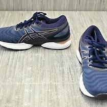 Asics Gel-Nimbus 22 1012a2586 Running Shoes - Women's Size 8 Navy Photo