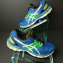 Asics Gel-Nimbus Mens Running Shoes. Blue/white ( T507n ). Size 10.5.      A271 Photo