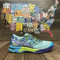 Asics Gel Noosa T580n Blue Running Shoes Sneakers Womens Size 7 Photo