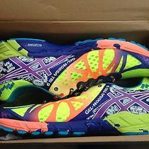 Asics Gel-Noosa Tri 9 Running Triathlon Shoes T408n 0436 Flash Neon Mens 13  Photo