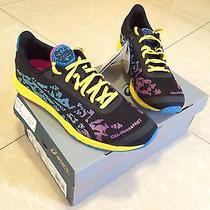 Asics Gel Noosafast Pink/black/yellow/blue Athletic Shoes  Us 9 Retail 100 Photo