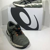 Asics Gel-Quantum 180 5 Mens Size 9 Green Black Athletic Running Shoes Zd-239 Photo