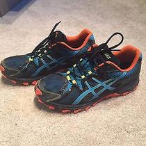 Asics Gel-Scout Mens Size 10.5 Black Trail Running - Once Used / Like New Photo