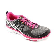 Asics Gel-Sustain Tr Womens Size 7.5 Black Trail Running Shoes Photo