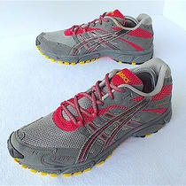 Asics Gel Trail Attack 6 Women's Running Shoes Gray/ Pink Size 10.5 Us Photo