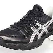 Asics Gel Upshot Training Shoe Sneaker Black / Silver 8.5 Us M Photo