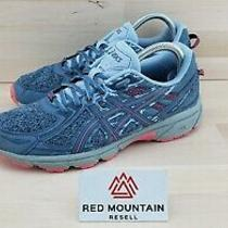 Asics Gel Venture 6 Running Hiking Trail Shoes 1012a504 Blue - Womens Size 9  Photo