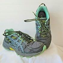 Asics Gel Venture 6 Running Shoes Teal Gray T7g6n Women's Size 7.5 Photo