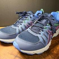 Asics Gel Venture 7 Running Shoes Womens Size 10 Athletic Trail Sneakers Blue Photo