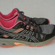 Asics Gel Venture 7 Womens Size 8 Gray Pink Trail Running Shoes Sneakers  Photo