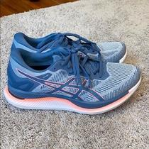 Asics Glideride Running Shoes Women's Size 9 Polar Shade/grey Floss 1012a699-020 Photo