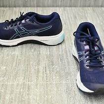 Asics Gt-1000 8 1012a460 Running Shoes - Women's Size 8 Blue Photo