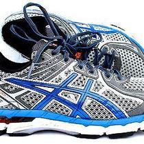 Asics Gt - 2000 2 Running Cross Train Shoes Titanium Silver Blue Men 9.5 Ee Wide Photo