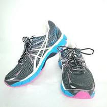 Asics Gt-2000 T2k7n Womens Us Size 8.5 Black Blue Pink Athletic Running Shoes Photo