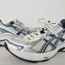 Asics Gt-2130 Igs Athletic Running Shoes Sz 8 Womens White Blue Tn85474 Photo