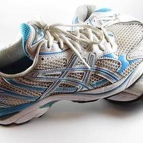 Asics Gt 2150 Pronatation Gel Duomax Womens Size 9 M Teal Blue Running Shoe Photo