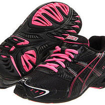 Asics Kid's Gel-Antares 3 Gs Black/onyx/pink Running Shoe Us 6 Photo