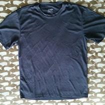 Asics Medium Athletic Perforated Gray Men's Activity Tee T Shirt Euc (F) Photo