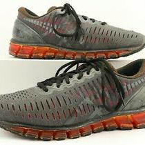 Asics Men's Gray & Orange Gel-Quantum 360 Running Sneakers Size 8 Us Photo