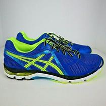 Asics Men's Gt-2000 3 Running Shoes - Blue/flash Yellow/atomic Blue - Brand New Photo
