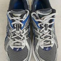 Asics Mens Gt-2140 Gel Cushion Igs Running Shoes Silver Blue Photo