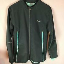 Asics Men's Jacket  Size Small Euc  Spandex Photo