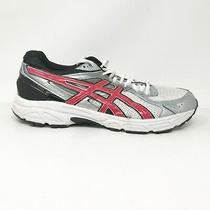 Asics Mens Gel Contend 2 T426n White Black Silver Running Shoes Lace Up Size 13 Photo